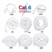 Cable de red LAN Cat6 RJ45, Cable Ethernet de alta velocidad para ordenador Router, 1m/1,5 m/2m/3m /5m/10M/15m/20m/25m/30m