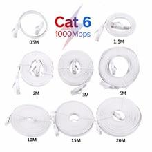 Cat6 RJ45 kabel sieciowy LAN szybki kabel Ethernet kabel komputerowy do routera komputerowego 1m/1.5m/2m/3m /5m/10M/15m/20m/25m/30m