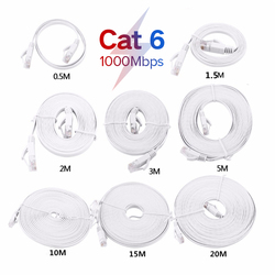 Cat6 RJ45 Network LAN Cable High Speed Ethernet Cable Computer Cable for Computer Router 1m/1.5m/2m/3m /5m/10M/15m/20m/25m/30m