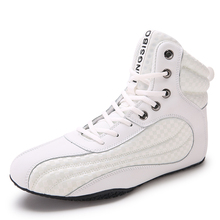 2020 Hot Sale Couples Wrestling Shoes Anti Slip Men and Women Boxing Boot Breathable Gym Shoes for Mens Brand Weightlifting Shoe
