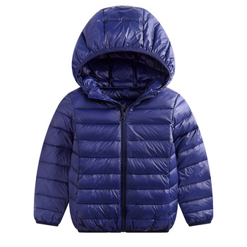 Παιδικό μπουφάν χειμερινό με κουκούλα ελαφρύ