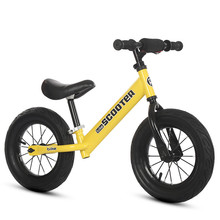 Balance Bike Scooter Bicycle Children's 12inch Sliding-Walk-Learn Foot Without 1-3-6-Years-Old