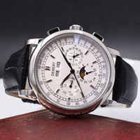 Relogio a prova de agua automático reloj mecánico para hombres, mochilas para hombres, accesorios para el hogar 316L Acero inoxidable Phase6015