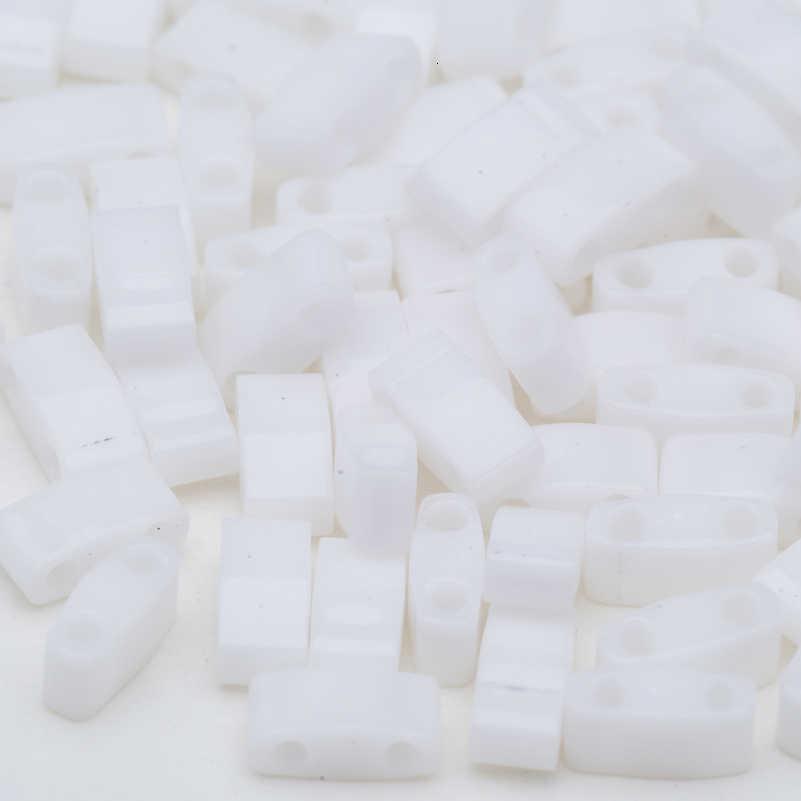 Taidian מיוקי רבעון Tila חרוזים DIY חרוזים צמיד אטום אדום 5x1.2x1.9MM 3 גרם\חבילה על 144 חתיכות
