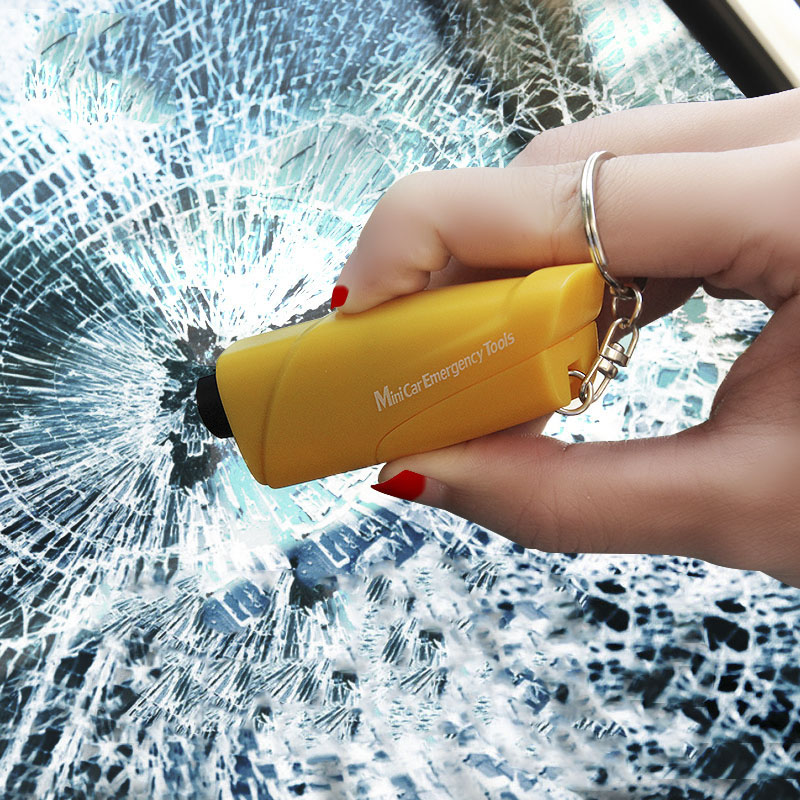 New Multifunctional Car Safety Hammer Mini Emergency Tools Car Window Breaker Escape Device Seat Belt Cutter
