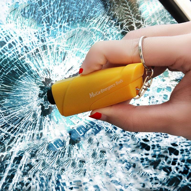 New Multifunctional Car Safety Hammer Mini Emergency Tools Car Window Breaker Escape Device Seat Belt Cutter