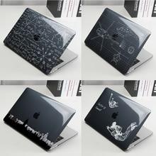 Чехол для ноутбука Apple Macbook M1 Air Pro Retina New Touch Bar 11 12 13 16 дюймов, Жесткий Чехол для ноутбука mac book 13,3 Shell