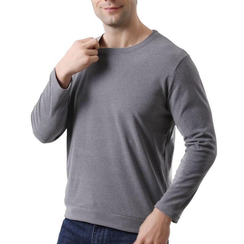 Autumn Spring men sleep tops 5XL 6XL 7XL 8XL Bust 156cm Plus size Home wear