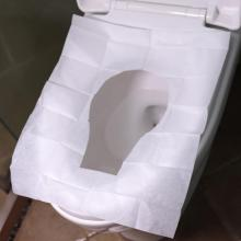 10 шт./компл. крышка Poty Kids/беременная женщина водорастворимый сиденье для унитаза одноразовые Бумага материнской Туалетная Сидушка Бумага дорожные инструменты