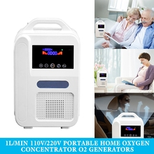 O2 Generators Oxygen Concentrator Air Purifier Ventilator Sleep MINI Oxygen Machine Equipment