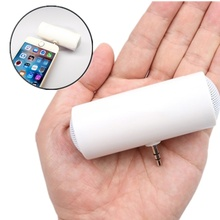 Speaker Mobile-Phone-Accessories Portable Mini Stereo with 1PC Monaural Music Universal