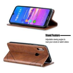 Huawei Y6 2019 чехол Магнитный кожаный тонкий чехол na для huawei Y6 2019 Y 6 Pro Prime Y6Prime 2018 флип-Стенд бизнес-чехол для телефона