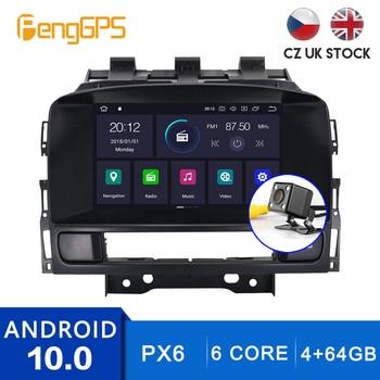 Android 10,0 Car Stereo para Opel Vauxhall Holden Astra J 2010-2013 GPS Navi Radio pantalla táctil Multimedia enlace espejo DSP PX6