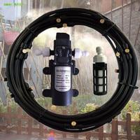 8 m 10 12 15 m 18 m jardim irrigação spray de água névoa sistema rega verão kits de refrigeração humidificação cogumelo automático s351