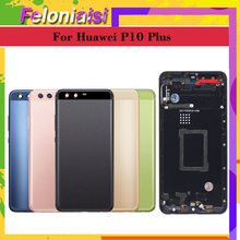 For Huawei P10 Plus VKY-L09 VKY-L29 VKY-AL00 Battery Cover Back Housing Rear Door Case full Battery Cover Panel Replacement qrxpower replacement battery 3750mah hb386589cw for huawei p10 plus vky al00 honor 8x play nova 4 mate20 lite