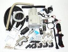 Telefone gsm/led controle remoto + (5kw 12v) aquecedor líquido de água para diesel/motor a gás de ônibus van caminhão de carro! Webasto aquecedor de água