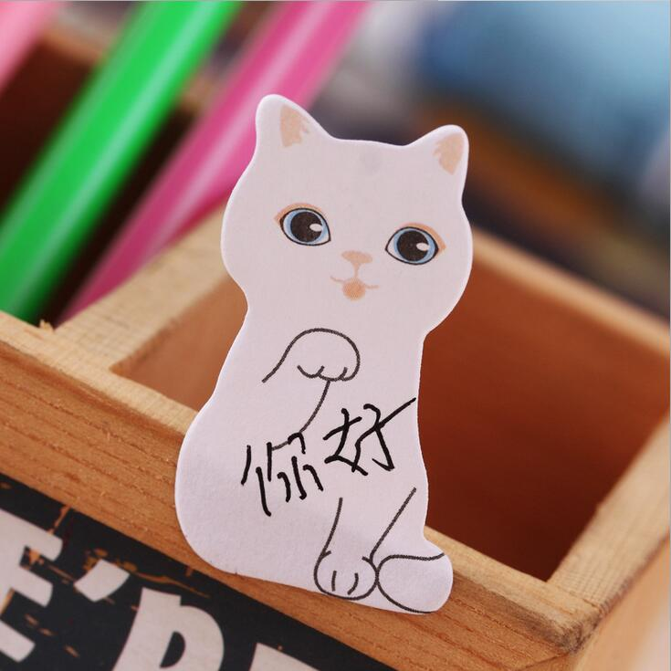 1pack/lot Cute Mini Cat And Dog Notes Memo Pad Party And Papeleria School Supplies For Students Gifts