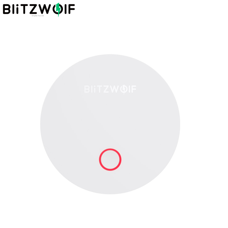 BlitzWolf BW IS1 ZigBee 3.0 Multifunction Smart Gateway APP Remote Control Host Work With Home Security Kits Smart Electronics