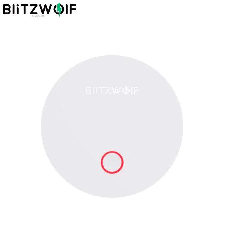 Puerta de enlace BlitzWolf BW IS1 ZigBee 3,0, multifunción, aplicación remota, compatible con el hogar, Kits de seguridad Electrónica Inteligente Sensor de movimiento 100% Aqara ZigBee, Sensor de cuerpo humano, conexión inalámbrica de seguridad con movimiento, entrada de luz de intensidad 2 Mi, aplicación para hogares