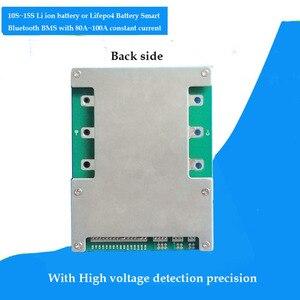 Image 4 - 10S 36V PCB lithium ionen elektrische roller Batterie smart 42V BMS mit PC software Management BMS UART kommunikation 100A