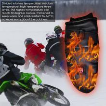 Перчатки с электрическим подогревом, двухсторонние, с подогревом, пять пальцев, с сенсорным экраном, электрические перчатки, зимние, мужские и женские, с зарядкой, перчатки Windp