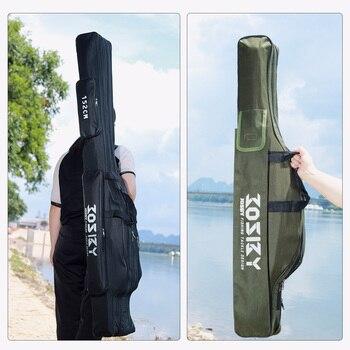 Fishing Rod Storage Bag  Oxford Cloth  Multifunctional  1/2/3 Layer  Large Capacity 2
