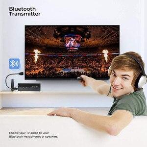 Image 4 - Bluetooth 5.0 nadajnik odbiornik 3.5 3.5mm Aux Jack muzyka Stereo Audio bezprzewodowy Adapter do TV PC zestaw samochodowy z przycisk sterowania
