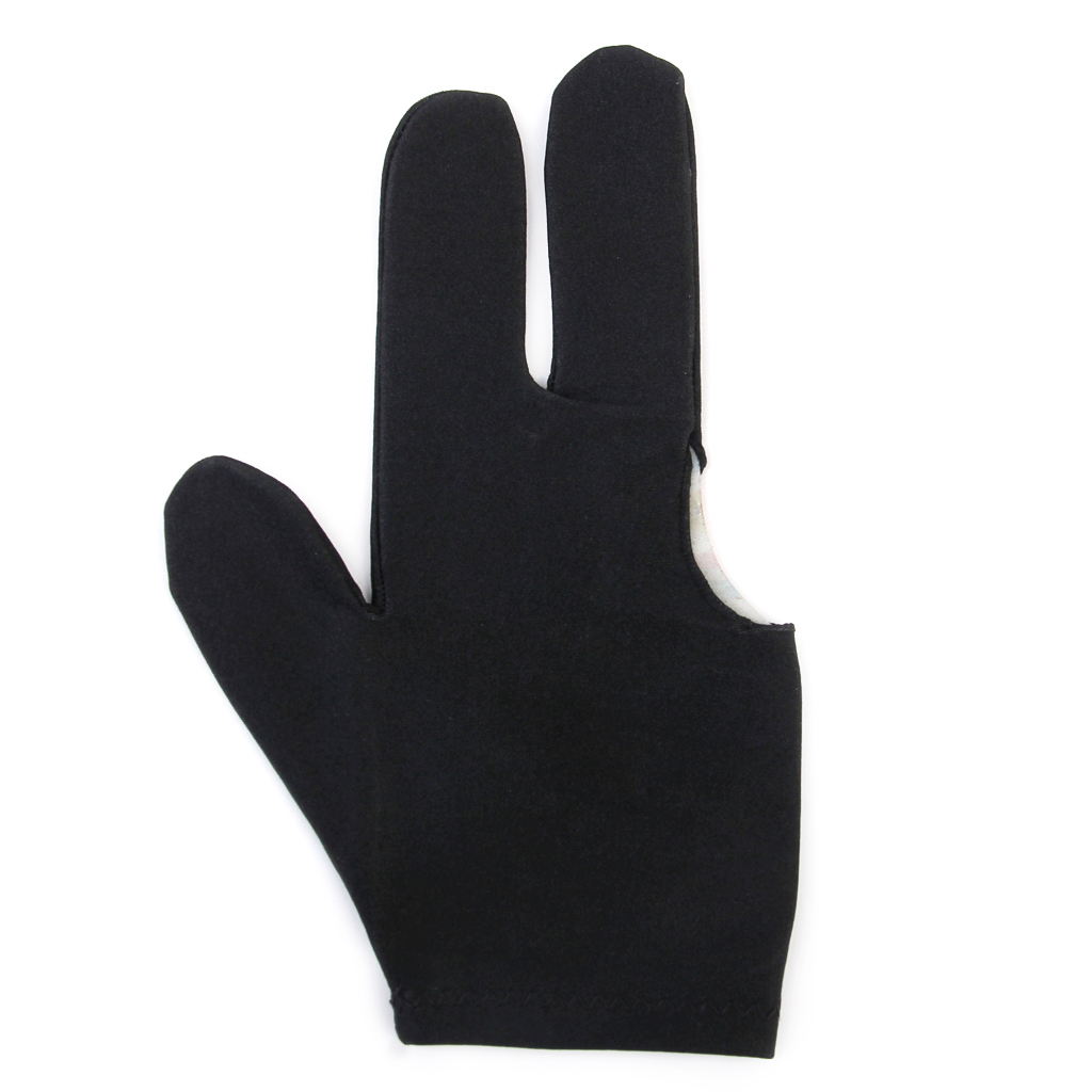 3 Finger Snooker Pool Billiard Table Cue Gloves Stretchy Nylon Fingers Protection Mitts Mittens For Sports Accessories