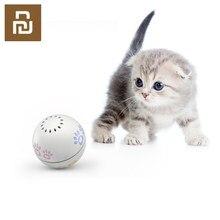 Animal de estimação inteligente companheiro bola brinquedo interativo recarregável bola rolagem irregular com catnip para gatos pet gatinho flerken