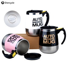 цена на Automatic Self Stirring Mug Coffee Milk Mixing Mug Stainless Steel Thermal Cup Electric Lazy Double Insulated Smart Cup