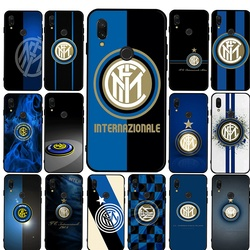 Inter Milan club New case Silicone Phone Case For Xiaomi Redmi Mi 6 8 SE Lite 9 A3 9T Pro 9 SE F1 A1 CC9 CC9E Cover