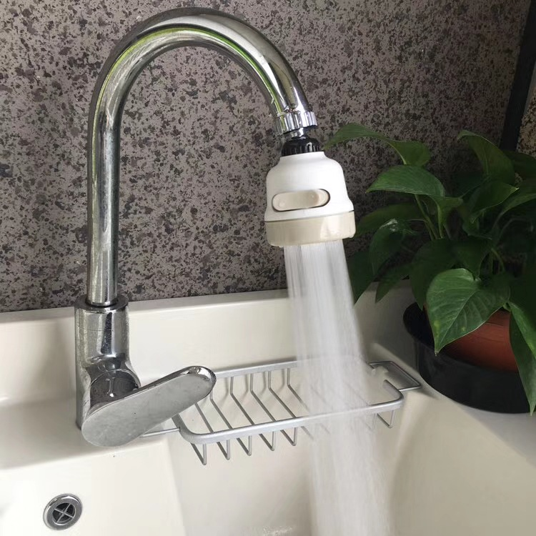 Anti-spill Faucet Shower Kitchen Household Water Supercharge Shower Rotatable Filter Saving Nozzle
