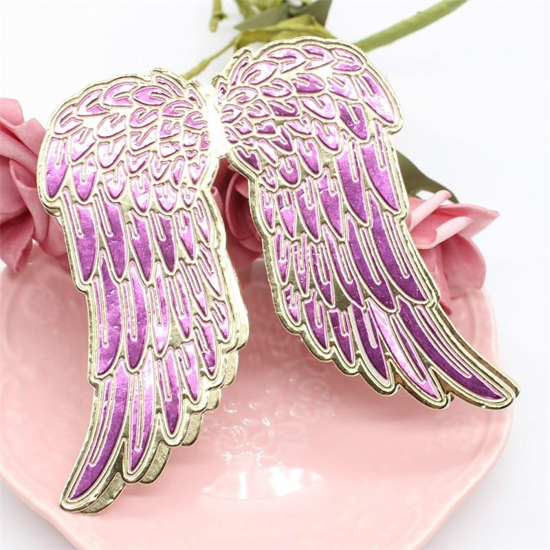 KLJUYP Angel Wing Metal Cutting Dies Scrapbook Paper Craft Decoration Dies Scrapbooking 07091
