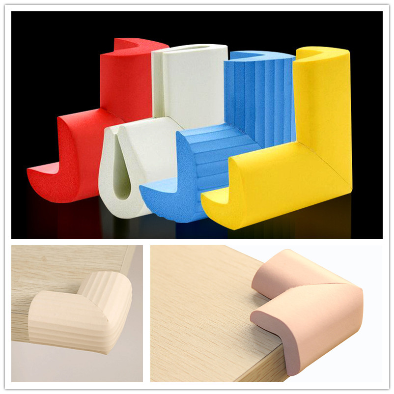 1PC Soft Corners On Furniture Edge Banding Kids Furniture Trim Overlays On Corners Baby Safety Protector Edges