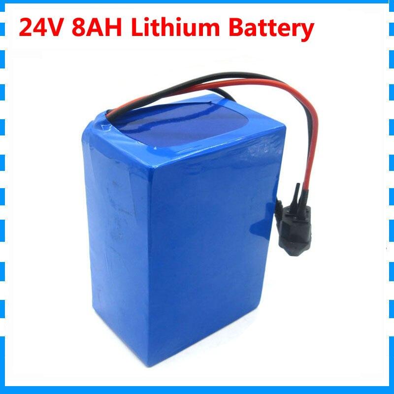 24v 8ah 7S4P батарея 15A BMS 250w 29,4 V 8000mAh аккумулятор для электровелосипеда инвалидной коляски комплект электродвигателя