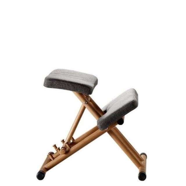 Posture Stool Ergonomic Kneeling Chair For Kids Adult Home Office With Thick Foam Cushions Relieve Back Pressure