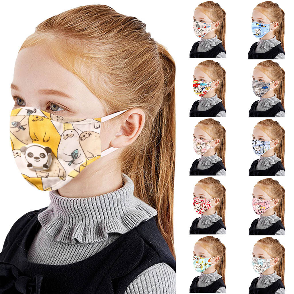 In Stock Kids Baby Mouth Face Reusable Dustproof Pollution Respirator Cover Topmask Mascarillas Маски Для Рта Respirator#E20