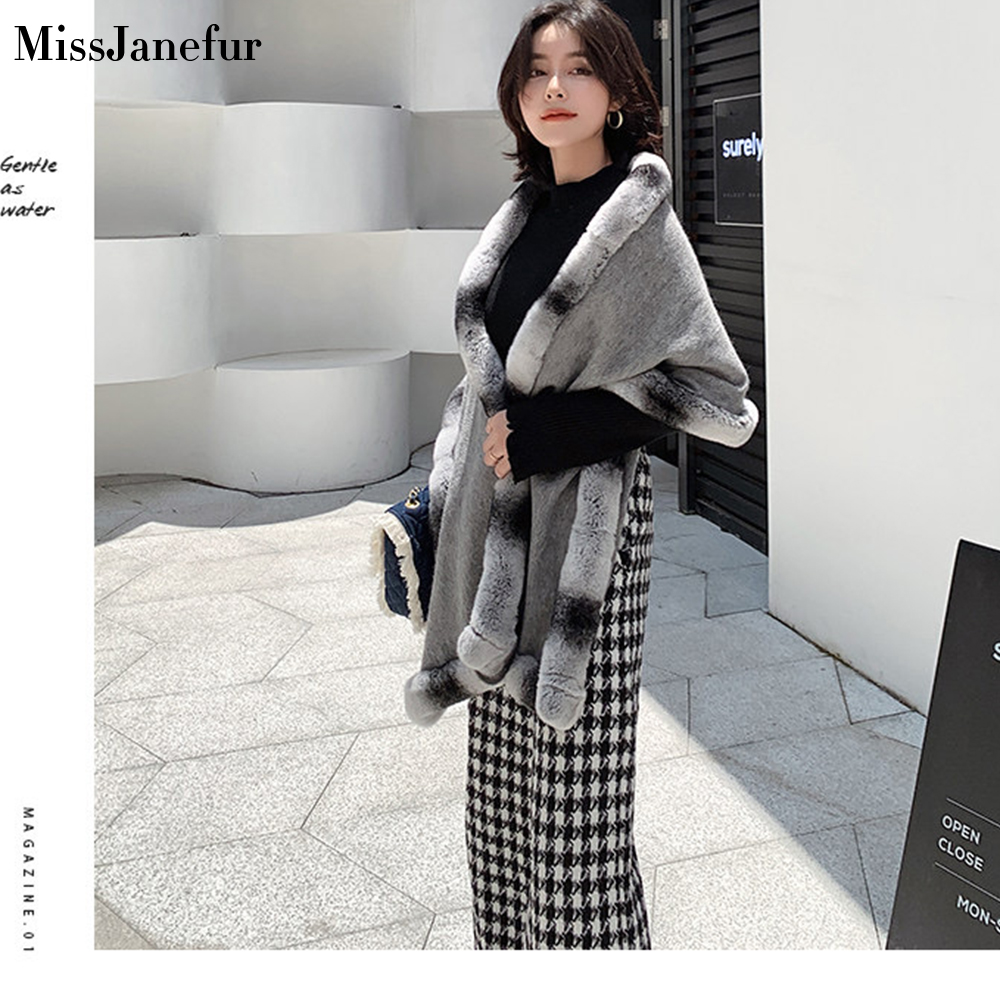 Visual Axles Winter Women Knitted poncho Luxury Ladies Autumn Capes and Scarf