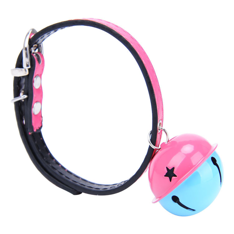 Pet Supplies Pet Cat Dog Bell Neck Ring Teddy VIP Bichon Pomeranian Collar