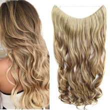 Невидимая лента для наращивания волос 24 дюйма длинная прямая