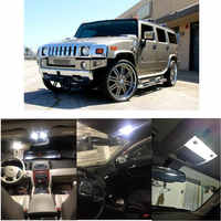 Luces Led interiores para Hummer H2 H3, 2007