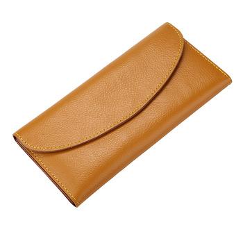 Portfele i portmonetki damskie portfele damskie portfele znanych kobiet portfel prawdziwy długi portfel ze skóry krowy skórzany portfel mężczyzn tanie i dobre opinie Prawdziwej skóry long 0 16 Poliester 0 28cm Cow Leather Stałe Na co dzień Genuine Leather Wallet Wnętrza przedziału
