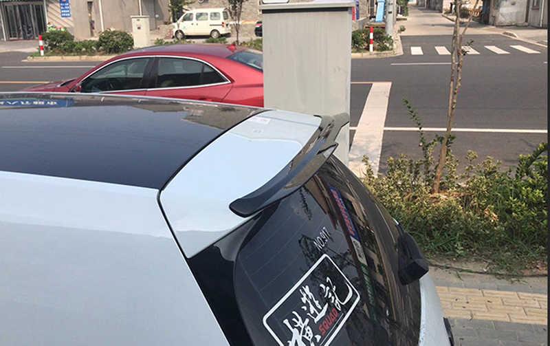 Style de voiture ABS Piano noir arrière coffre toit Spoiler adapté pour Volkswagen VW GOLF MK7 MK7.5 Rline GTI 2014-2018 livraison gratuite
