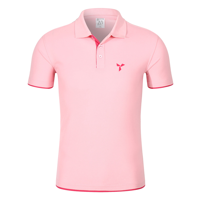 2020 NEW Clothes Men Knitted Polo Shirt Contrast Color Short Sleeve Turn-down Neck Top Breathable Plus Size Sport Men's Polo Tee 7