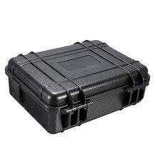 275*210*90 мм водонепроницаемый открытый ударное Оборудование Инструмент инструментальный ящик ABS пластиковый портативный ящик для инструментов устойчивый с пеной