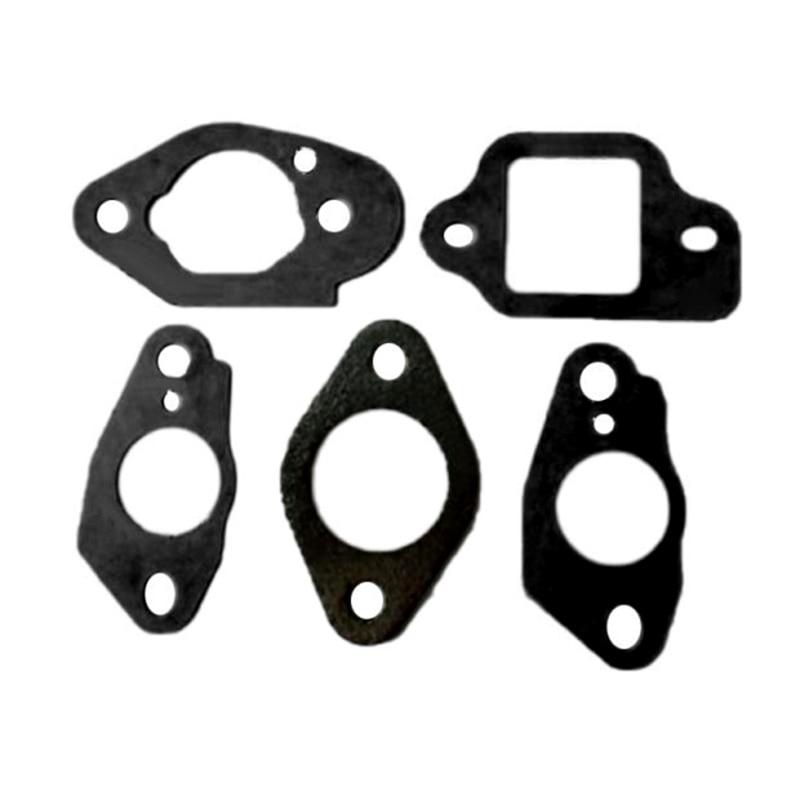 5pcs Carburetor Gaskets Kit For Honda 415 416 SET FITSIZY HRG465 GCV135 GCV160 GC135 GC160 Motor Engine Accessories Garden Tool