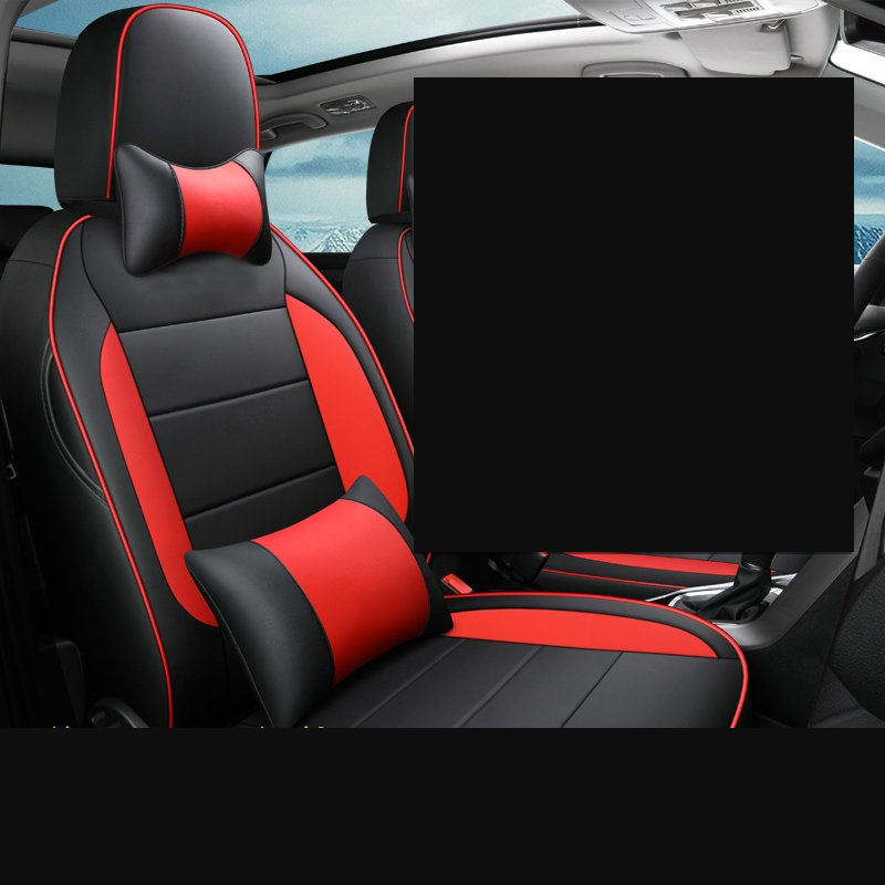 Lsrtw2017 For Volkswagen T-roc Car Seat Cover Waterproof Leather Interior Accessories 2017 2018 2019 2020