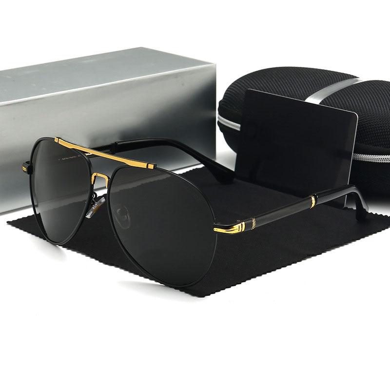 Polarized Sunglasses Men Fashion Brand Designer Policer Sunglasses Men Driving Sun Glasses For Men Pilot oculos de sol masculino 1