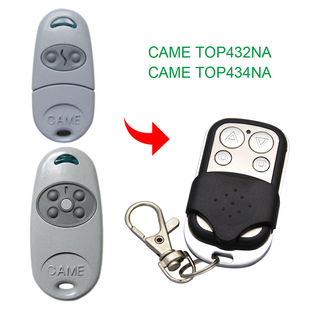 Copy CAME TOP432NA TOP434NA Remote Control 433.92mhz Copy Compatible Gate Garage Door CAME TOP-432NA TOP-434NA 433mhz Remote