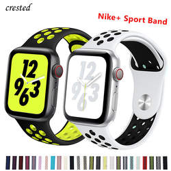 Силиконовый ремешок для apple watch band 42 мм/38 мм iwatch band 44 мм/40 мм спортивный браслет часы correa ремешок для apple watch 4 3 21